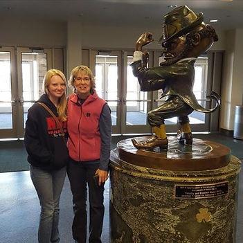 Pam Kole at Notre Dame Joyce Center
