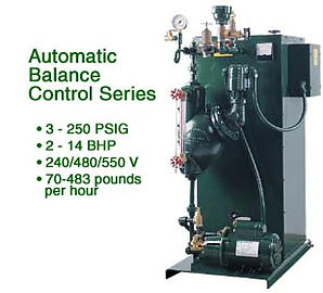Automatic Balance Control Series Steam Boiler