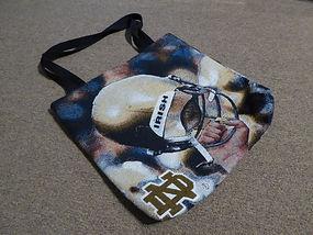 Notre Dame Custom Woven Bag