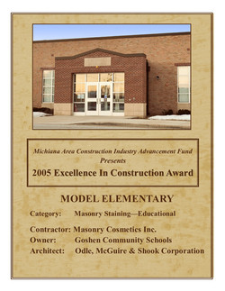 '05 Excellence in Construction Award