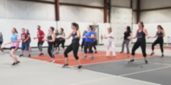 Zumba Class at Redbud Fitness
