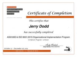 Dodd Organizational Implementation Progr