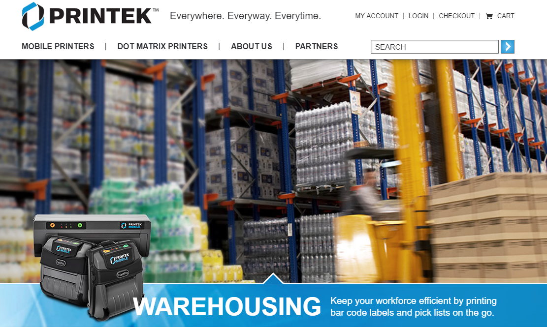printek warehousing