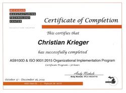 Krieger Organizational Implementation Pr