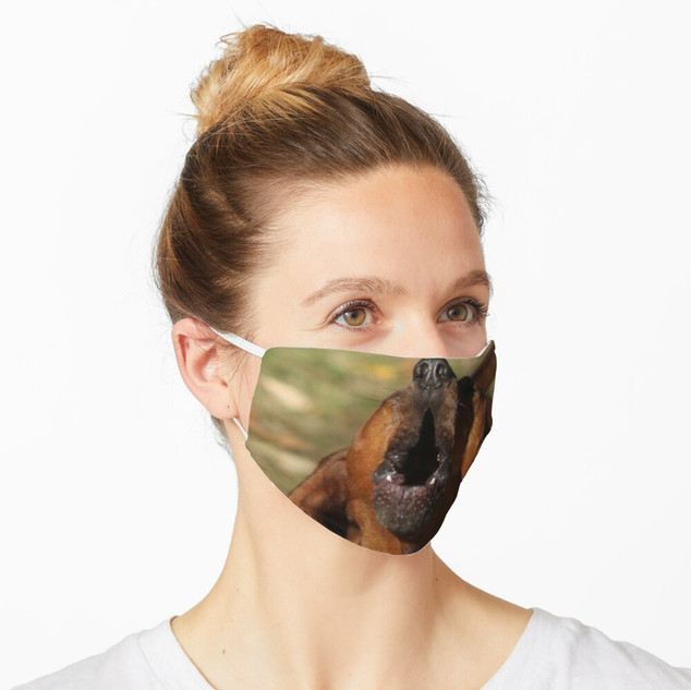 Custom Pet Photo on Social Distancing Mask