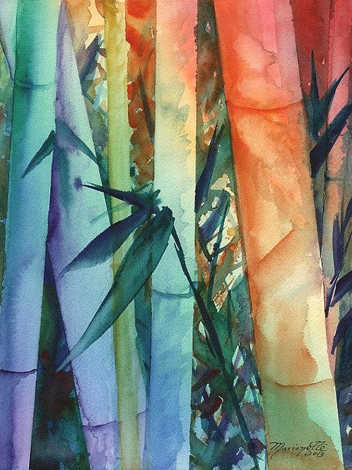"""Rainbow Bamboo 2"""