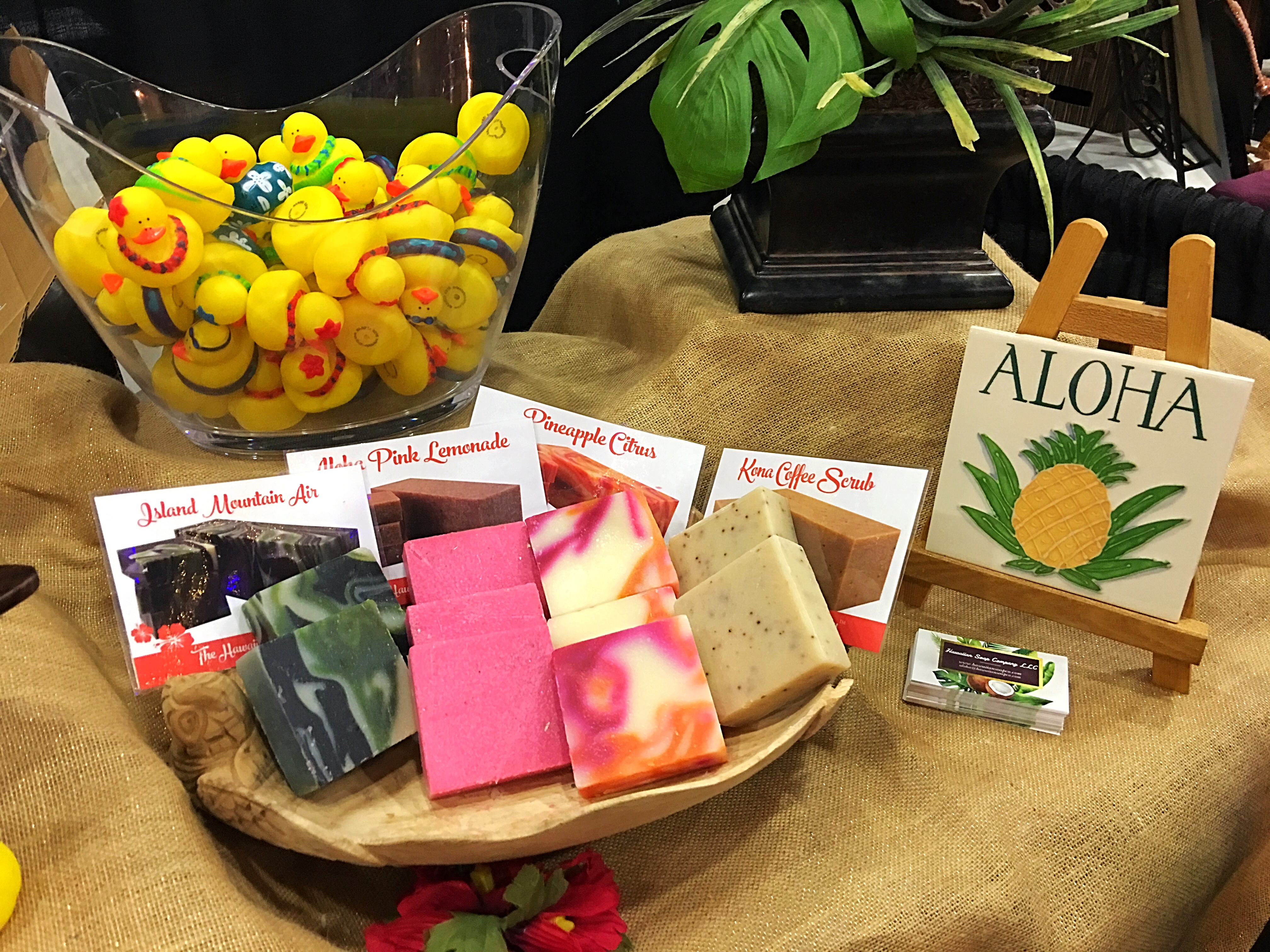Hawaiian Soap Company Holiday Market