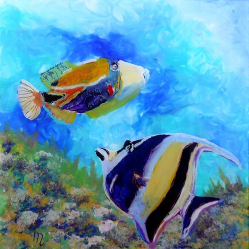 """""""Hawaiian Tropical Fish 2"""""""