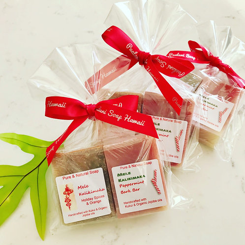 2 Mini Soaps Holiday Gift Pack