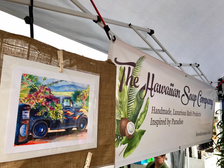 Hawaiian Soap Company Display 2018 10