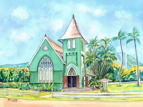 """Wai'oli Hui'ia Church"""