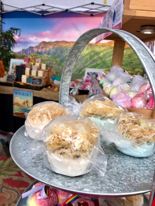 Hawaiian Soap Company Display 2018 2