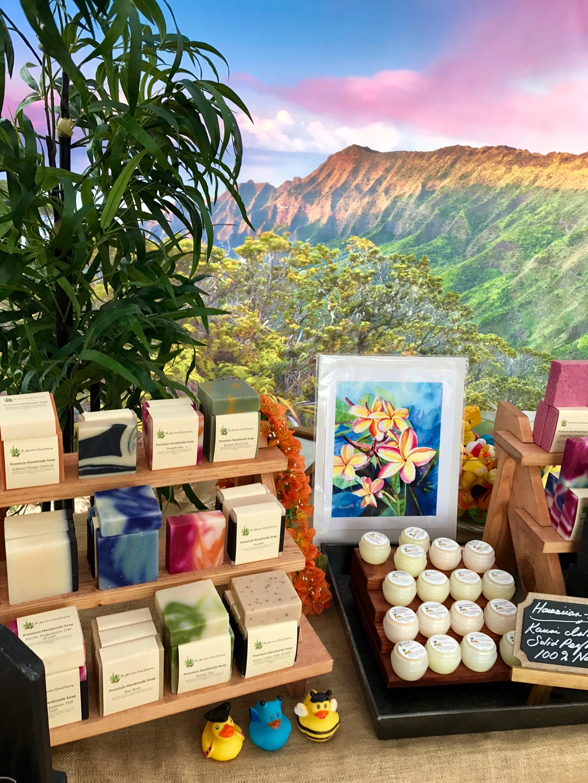 Hawaiian Soap Company Display 20185