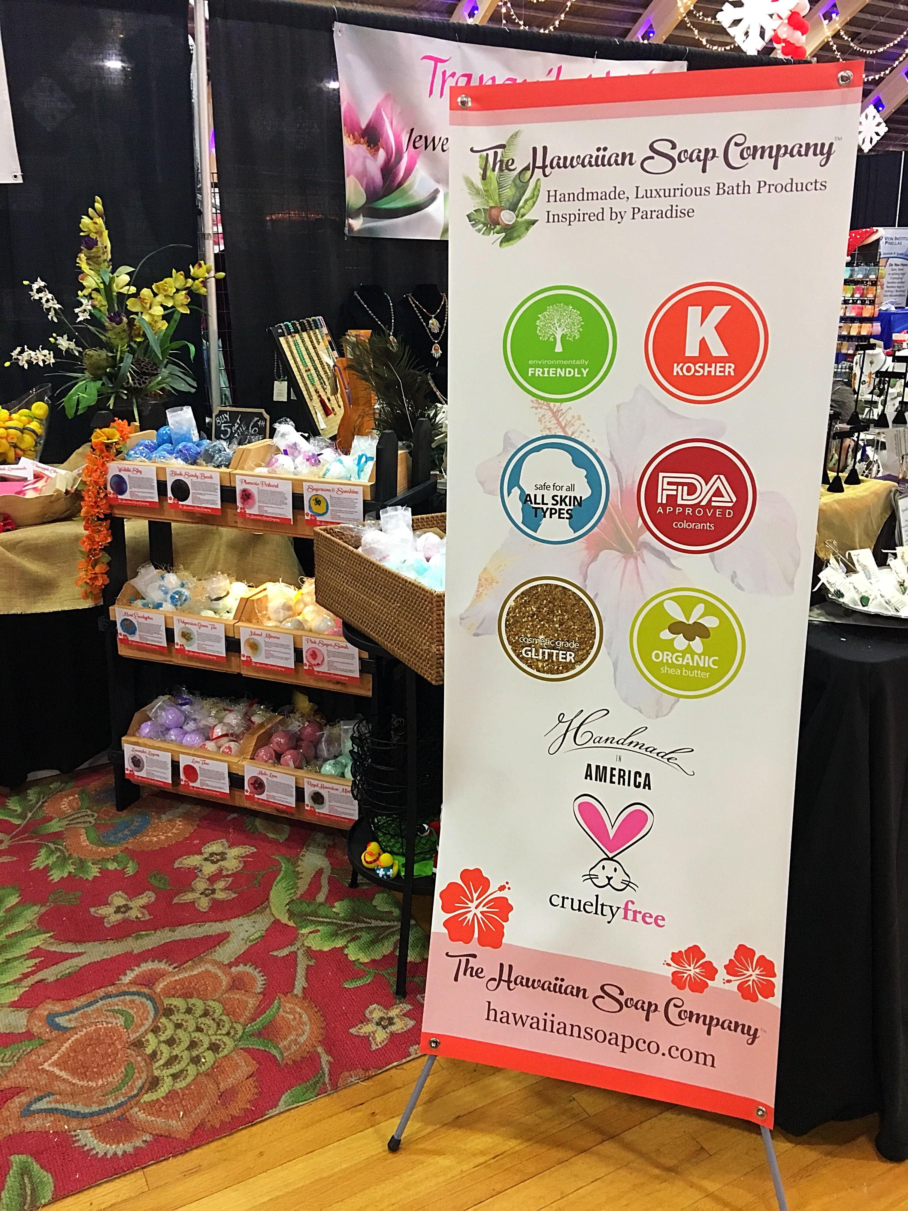 Hawaiian Soap Co. Events