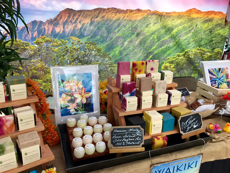 Hawaiian Soap Company Display 2018 3
