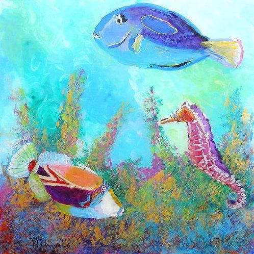 """""""Hawaiian Tropical Fish 3"""""""
