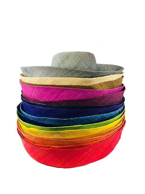 "Kala 5"" Brim Solids & Stripes Hat"