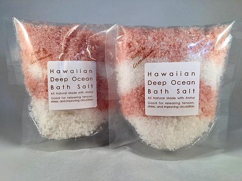 Pure Rose & Geranium - Deep Ocean Bath Salt
