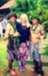 Hawaiian Luau on Kauai with Julie Robbins Manley