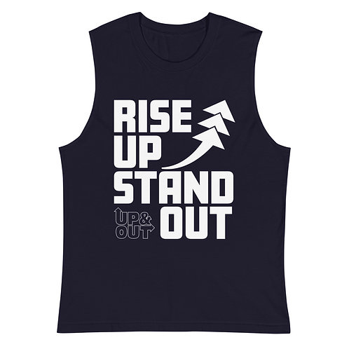 RISE UP STAND OUT Muscle Shirt