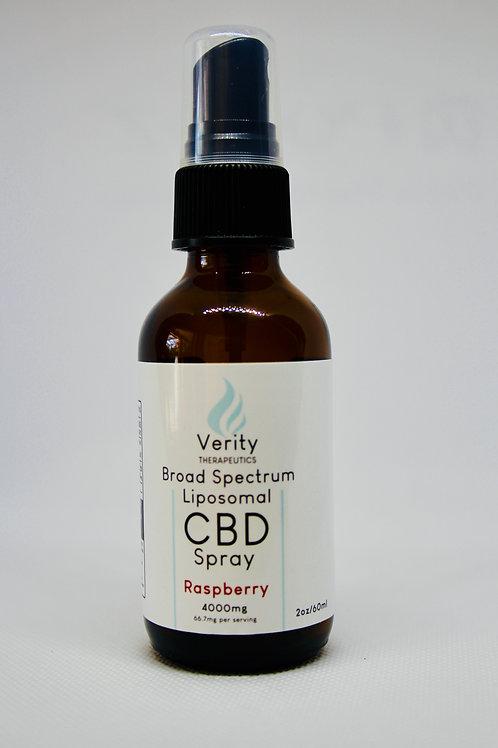 Broad Spectrum Liposomal CBD Spray | 66.7mg/ml  |  Total CBD: 4,000mg  |  60ml