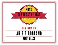 ReadersChoice_Arie's Dogland'18_Training