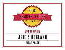 ReadersChoice_Arie's Dogland'18_Training