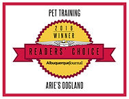 ReadersChoice_Arie's Dogland'16_Training