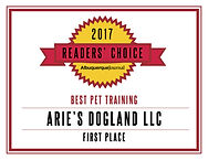 ReadersChoice_Arie's Dogland'17_Training
