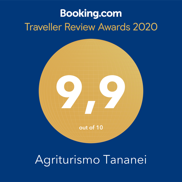 Traveller Review Awards 2020 for Tuscan Tananei farmhouse