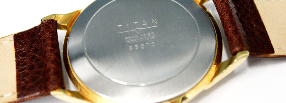 CW130 Titan Vintage Gents Wristwatch