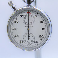 Lemania Chronograph Stop Watch