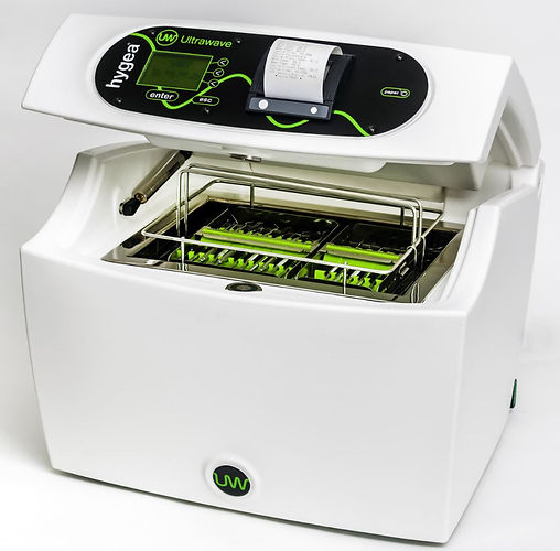 Hygea 2 Dental Ultrasonic Cleaner from Metafix (UK) Ltd