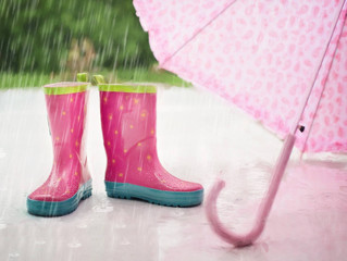 חורף... הגשם מטפטף על העורף