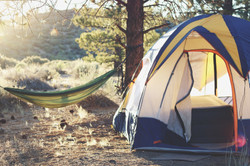 camping tent setup service