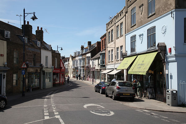 Whitstable town center