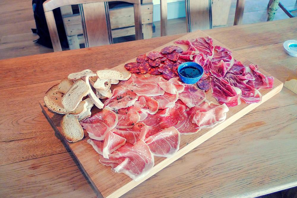 Jojo's meat board