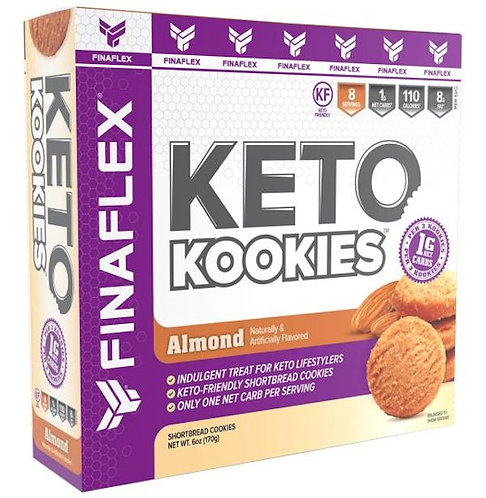 FinaFlex Keto Kookies 8 servings