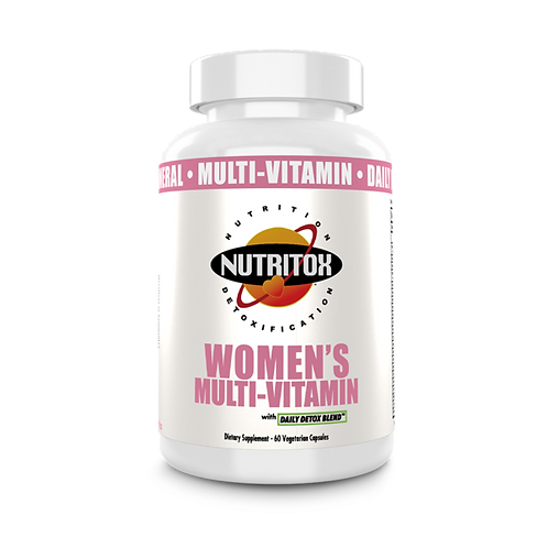 Nutritox Women's Multi-Vitamin 60 Veg Caps