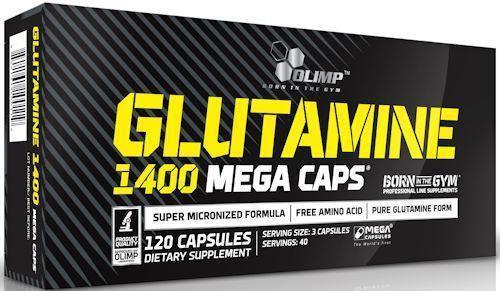 Olimp Labs Glutamine 1400 Mega 120 Caps