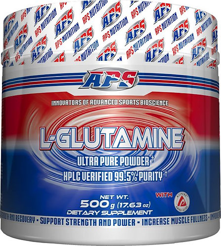APS Nutrition L-Glutamine 500 gms
