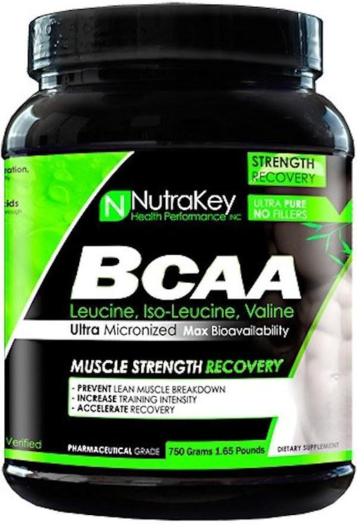 NutraKey BCAA Powder 750 gms