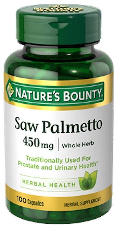 Nature's Bounty Saw Palmetto 100 caps