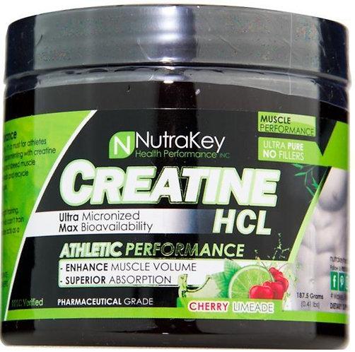 Nutrakey Creatine HCL 125 servings