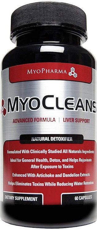 MyoPharma MyoCleanse 60 Capsules (Discontinue Limited Supply)