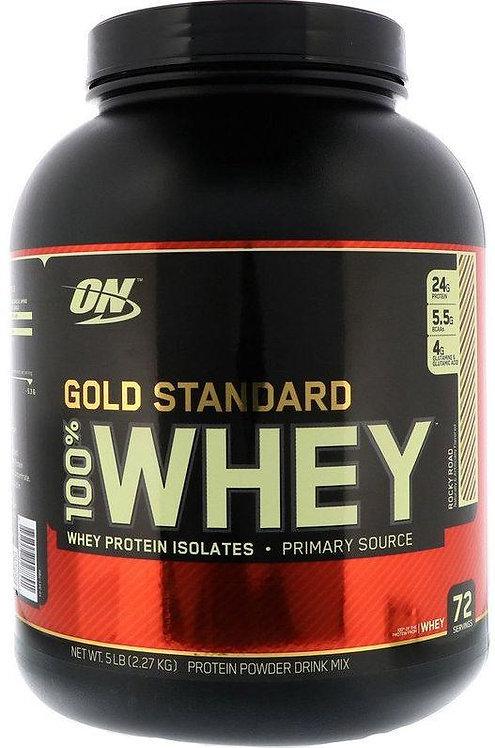 Optimum Nutrition Gold Standard 100% Whey 5 lbs 72 Servings