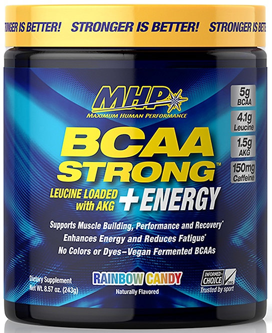 MHP BCAA Strong with Energy 30 servings