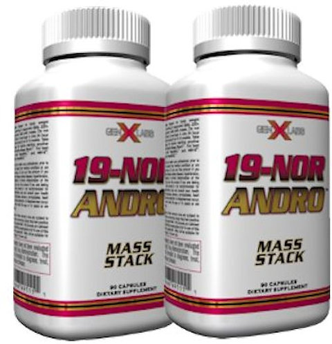 GenXLabs 19-Nor Andro 90 Capsules Double Pack