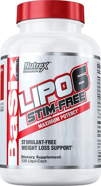 Nutrex Lipo-6 STIM-FREE 60 Caps