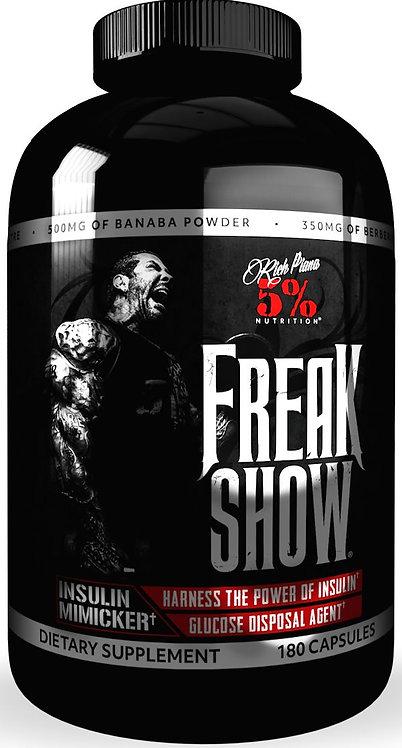 5% Nutrition Freak Show 180 Caps
